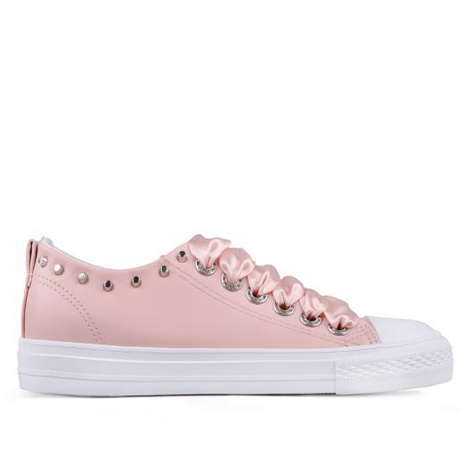 Розови дамски кецове 0133798