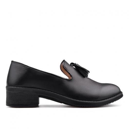 Черни дамски ежедневни обувки Nancy