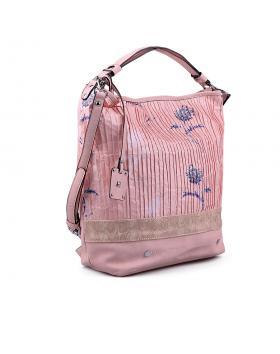 Розова дамска ежедневна чанта 0133072 в online магазин Fashionzona