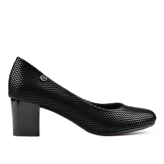 Черни дамски елегантни обувки 0134174