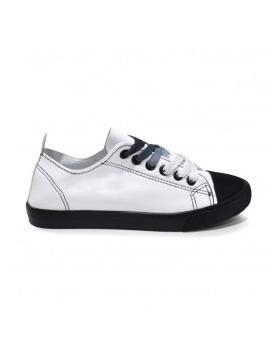 Бели дамски кецове 163098 163098 в online магазин Fashionzona