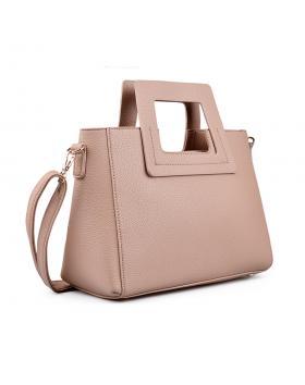 Бежова дамска ежедневна чанта 0134408 в online магазин Fashionzona