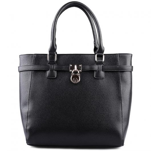 Черна дамска ежедневна чанта Lirienne