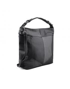 Черна дамска ежедневна чанта 0134267 в online магазин Fashionzona