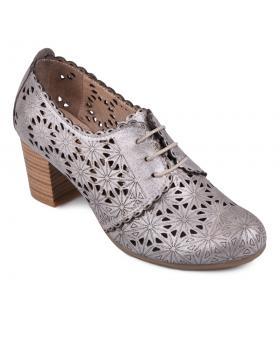 Сребристи ежедневни дамски обувки Nilda в online магазин Fashionzona