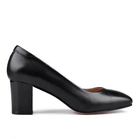 Черни дамски елегантни обувки 0134726