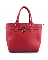 Червена дамска ежедневна чанта Estella в online магазин Fashionzona