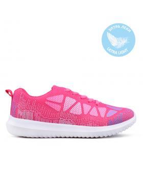 Розови дамски кецове 0133546 в online магазин Fashionzona