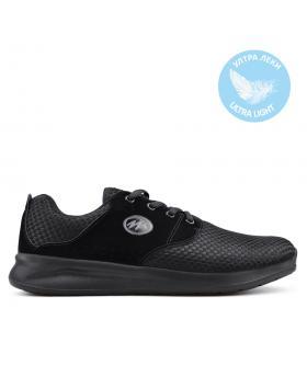 Черни мъжки кецове 0133610 в online магазин Fashionzona