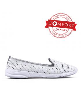 Бели дамски ежедневни обувки 0133464 в online магазин Fashionzona