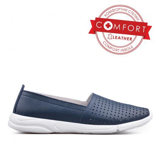 Сини дамски ежедневни обувки Diamanta