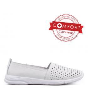 Бели дамски ежедневни обувки 0133466 в online магазин Fashionzona