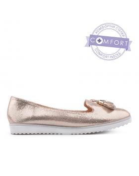 Златисти дамски ежедневни обувки 0134177 в online магазин Fashionzona