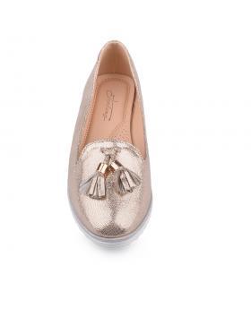 Златисти дамски ежедневни обувки Vivian в online магазин Fashionzona