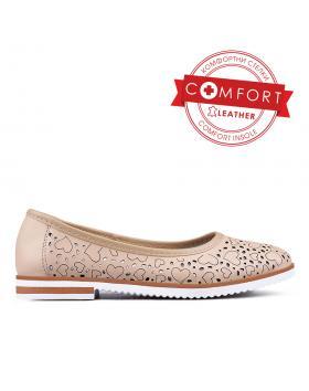 Бежови дамски ежедневни обувки 0133460 в online магазин Fashionzona