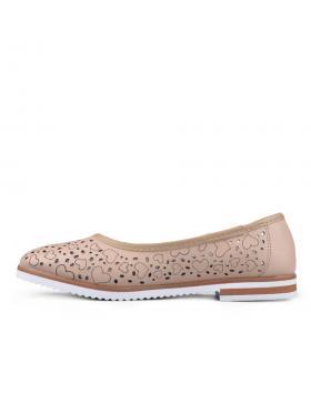 Бежови дамски ежедневни обувки Carona в online магазин Fashionzona