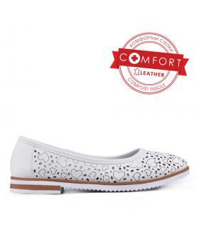 Бели дамски ежедневни обувки 0133459 в online магазин Fashionzona