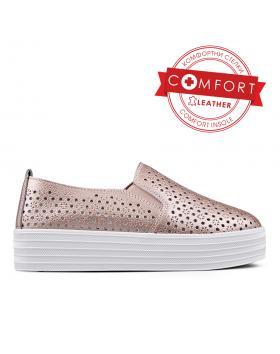 Златисти дамски ежедневни обувки 0133389 в online магазин Fashionzona