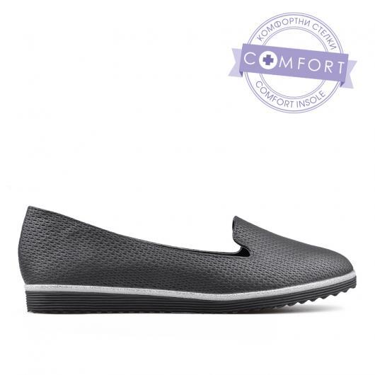 Черни дамски ежедневни обувки 0134178