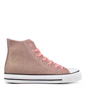 Розови дамски кецове 0133803 в online магазин Fashionzona
