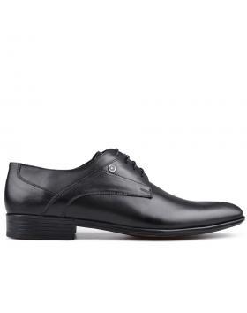 Черни мъжки елегантни обувки Lorent в online магазин Fashionzona