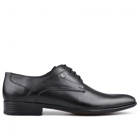 Черни мъжки елегантни обувки Lorent