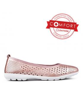 Златисти дамски ежедневни обувки 0133990 в online магазин Fashionzona