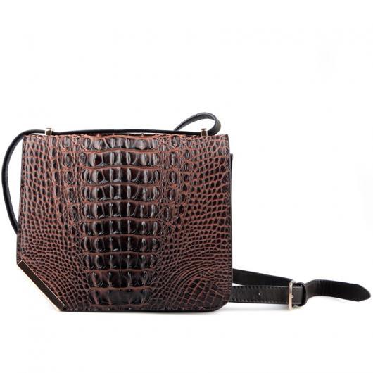 Кафява дамска ежедневна чанта Melaine