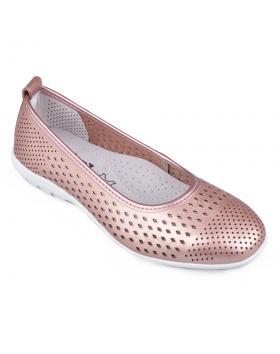 Златисти дамски ежедневни обувки Karma в online магазин Fashionzona