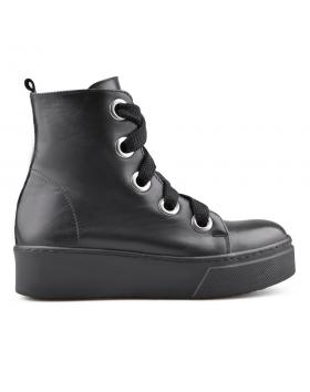 Дамски кецове черни 0134696 в online магазин Fashionzona