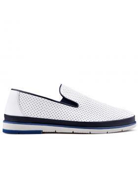 Бели мъжки ежедневни обувки Amelio в online магазин Fashionzona