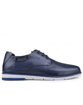 Сини мъжки ежедневни обувки 0134803 в online магазин Fashionzona