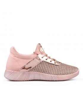 Розови дамски кецове 0134495 в online магазин Fashionzona