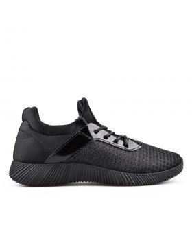 Черни дамски кецове 0134494 в online магазин Fashionzona