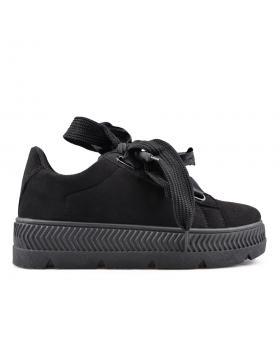 Черни дамски кецове 0134523 в online магазин Fashionzona