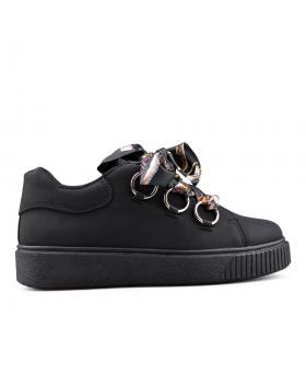 Черни дамски кецове 0134526 в online магазин Fashionzona