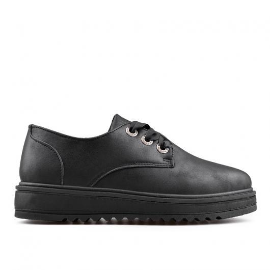 Черни дамски ежедневни обувки Ersilia