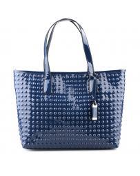 Синя дамска ежедневна чанта Mathilde в online магазин Fashionzona