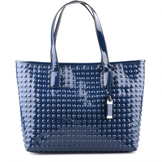 Синя дамска ежедневна чанта Mathilde