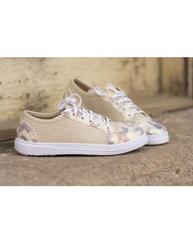 Бежови дамски ежедневни обувки Ginger в online магазин Fashionzona