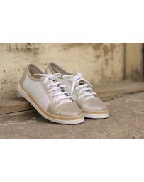 Бели дамски ежедневни обувки Kristina в online магазин Fashionzona