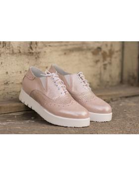 Дамски ежедневни обувки 1050 1050 пудра в online магазин Fashionzona