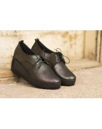 Дамски ежедневни обувки черни 1805