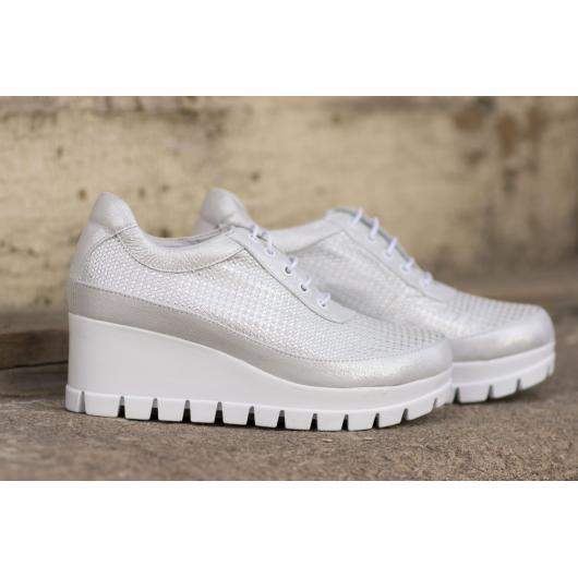 Бели дамски ежедневни обувки 2094