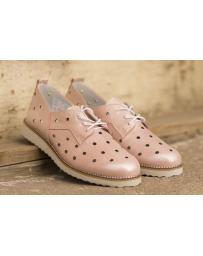Розови дамски ежедневни обувки Saanvi в online магазин Fashionzona