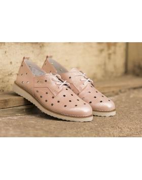 Розови дамски ежедневни обувки 3035 в online магазин Fashionzona