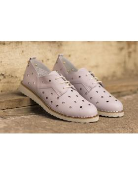 Лилави дамски ежедневни обувки 3035 в online магазин Fashionzona
