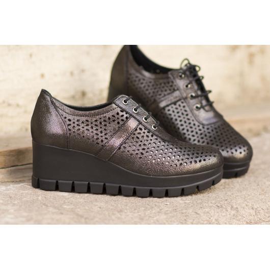 Черни дамски ежедневни обувки 3033
