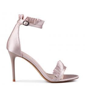 Бежови дамски елегантни сандали Jalissa в online магазин Fashionzona