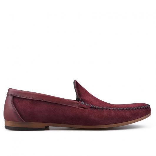 Червени мъжки ежедневни обувки 0134906
